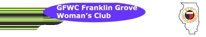 Franklin Grove Woman's Club meeting is on September 11 at 6 pm